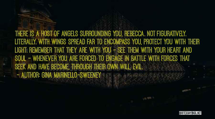 Angels Wings Quotes By Gina Marinello-Sweeney
