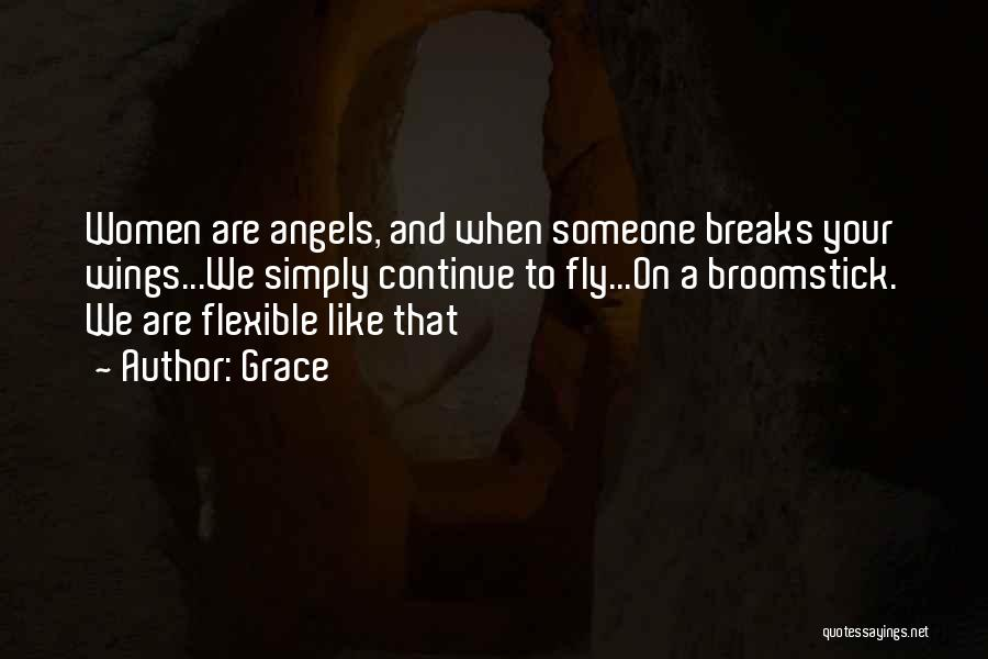 Angels Wings Quotes By Grace