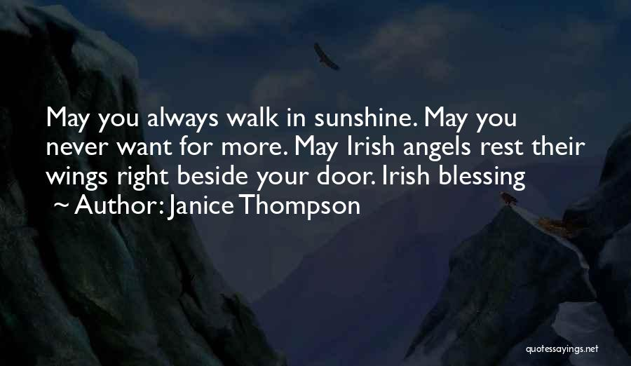 Angels Wings Quotes By Janice Thompson