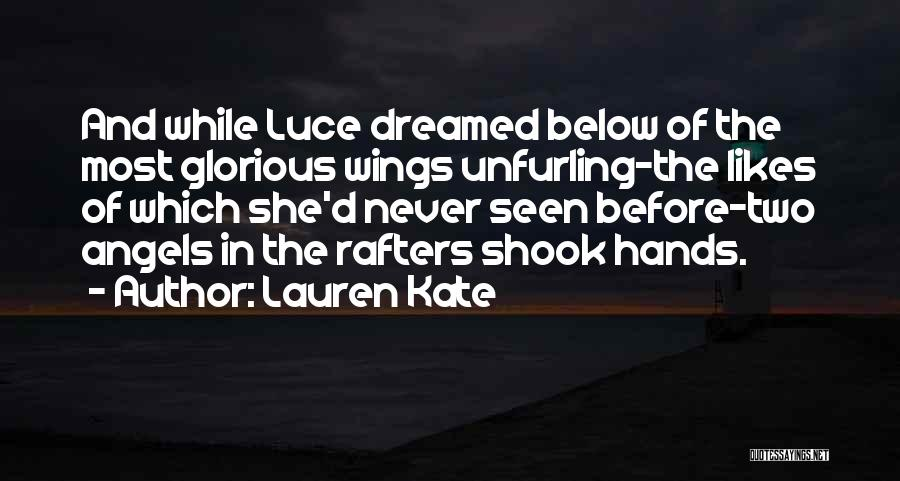 Angels Wings Quotes By Lauren Kate
