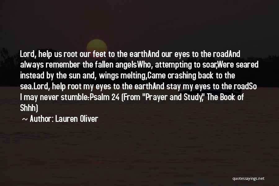 Angels Wings Quotes By Lauren Oliver