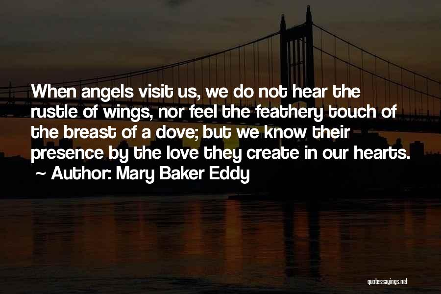 Angels Wings Quotes By Mary Baker Eddy