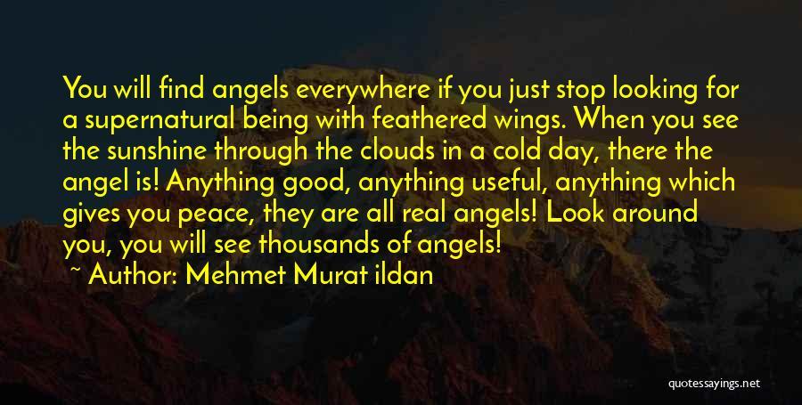 Angels Wings Quotes By Mehmet Murat Ildan
