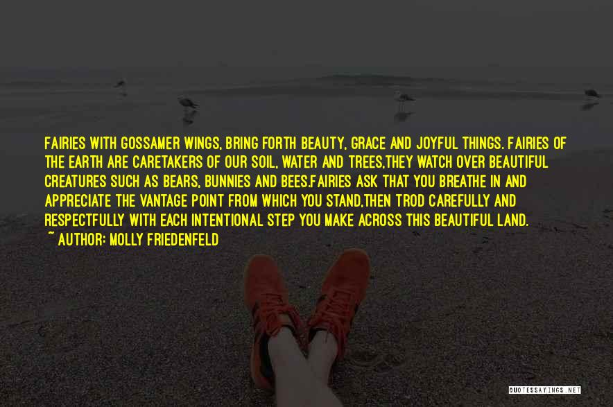 Angels Wings Quotes By Molly Friedenfeld