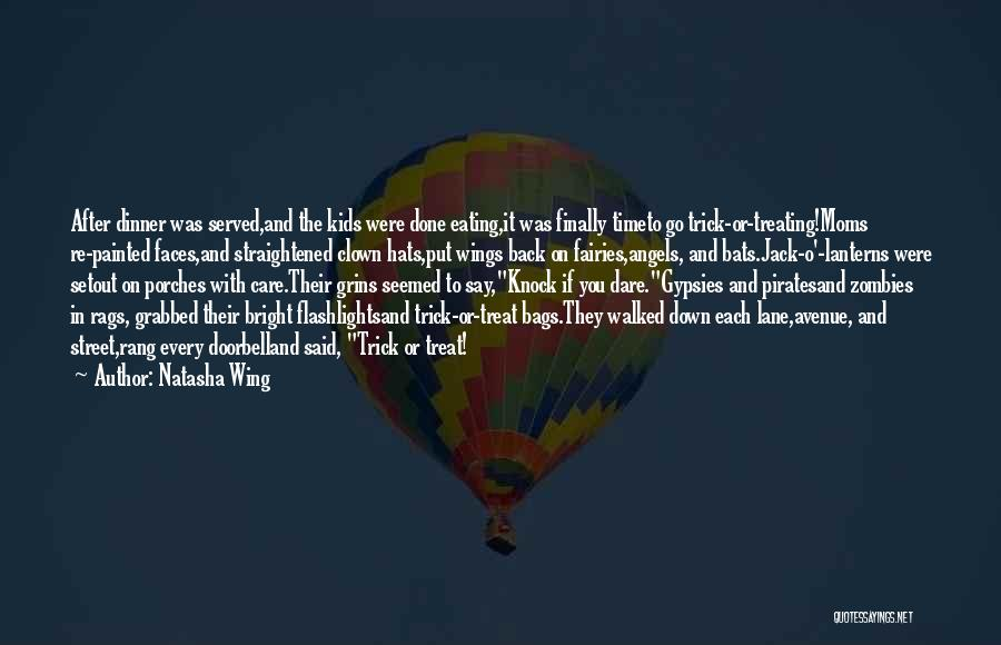 Angels Wings Quotes By Natasha Wing