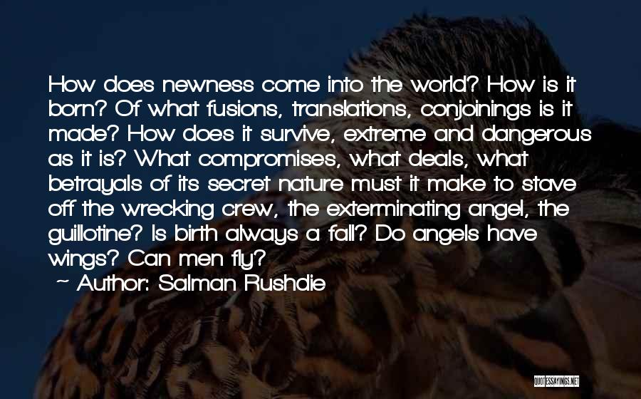 Angels Wings Quotes By Salman Rushdie