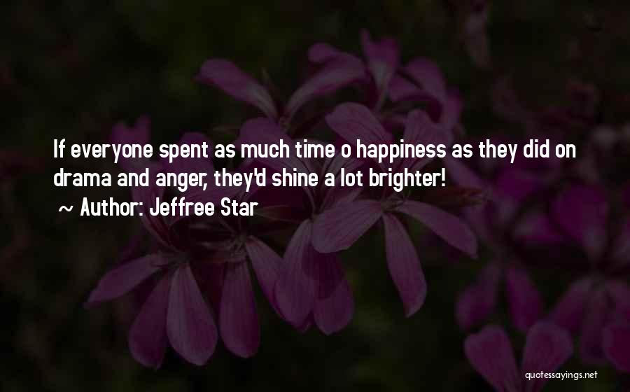 Anger And Happiness Quotes By Jeffree Star