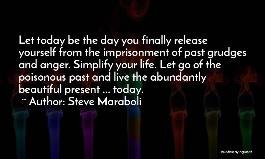 Anger And Happiness Quotes By Steve Maraboli