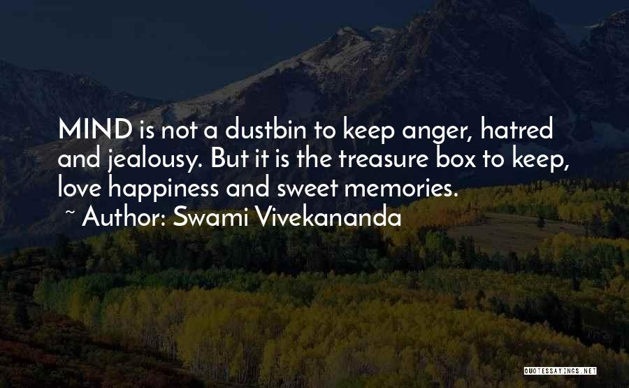 Anger And Happiness Quotes By Swami Vivekananda