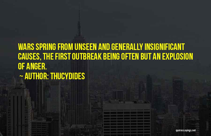 Anger Explosion Quotes By Thucydides