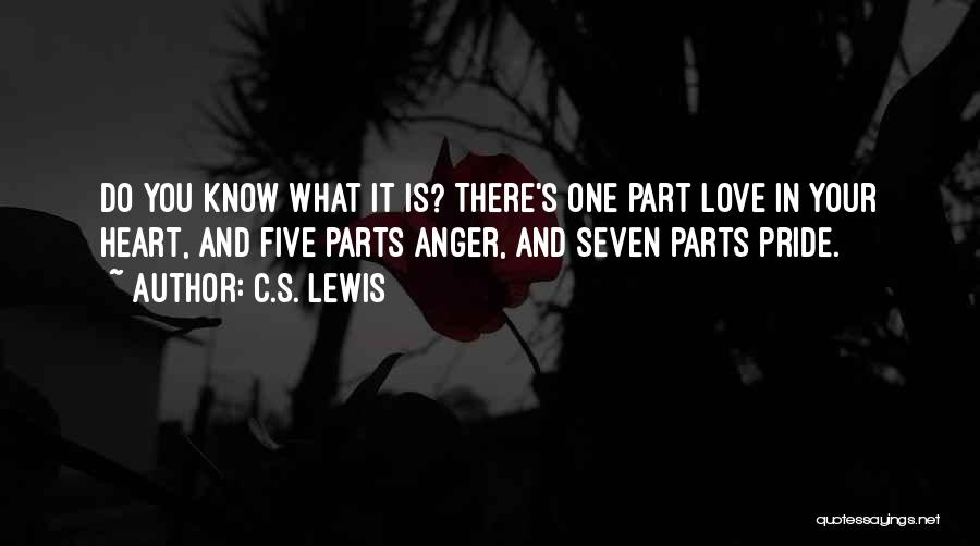 Anger In Your Heart Quotes By C.S. Lewis