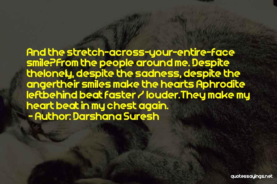 Anger In Your Heart Quotes By Darshana Suresh