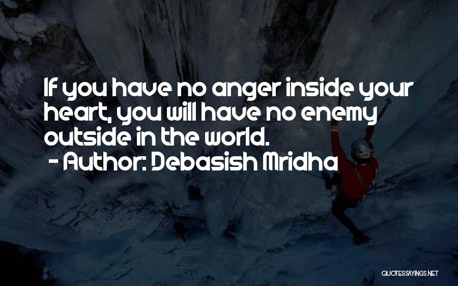 Anger In Your Heart Quotes By Debasish Mridha