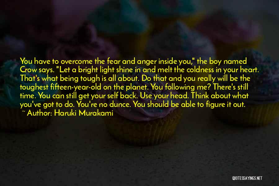 Anger In Your Heart Quotes By Haruki Murakami