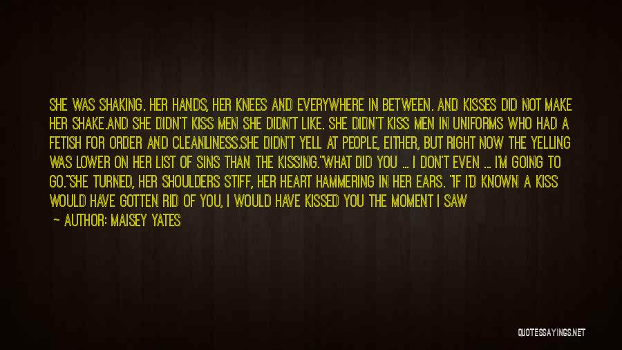 Anger In Your Heart Quotes By Maisey Yates