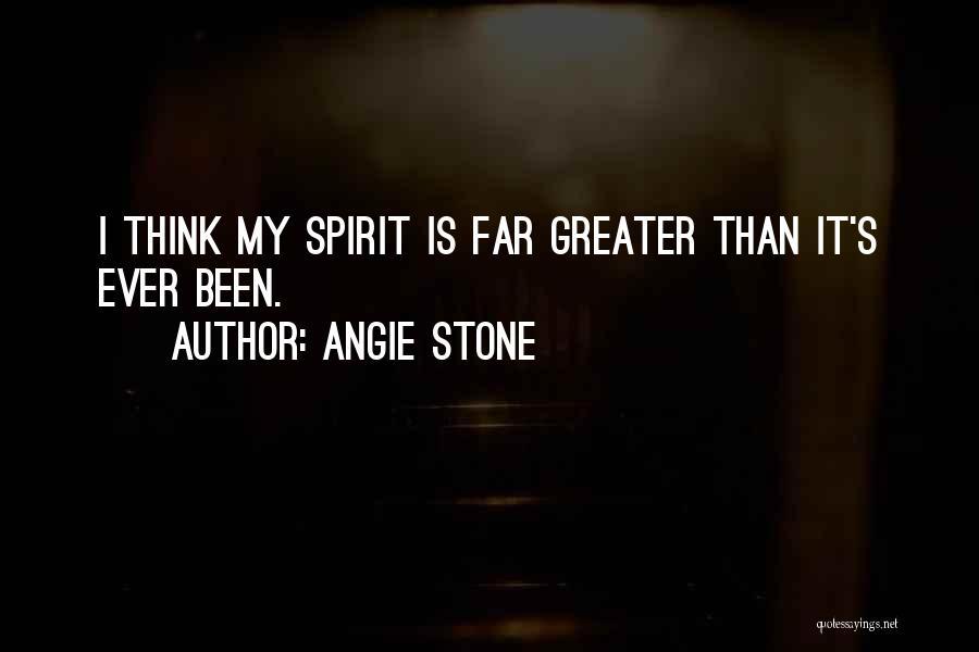 Angie Stone Quotes 1636936