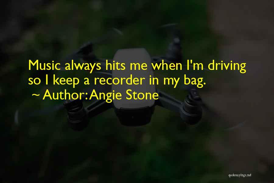 Angie Stone Quotes 166781