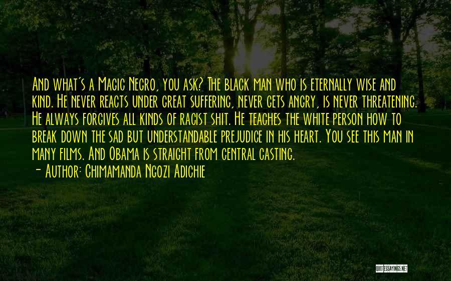 Angry Person Quotes By Chimamanda Ngozi Adichie