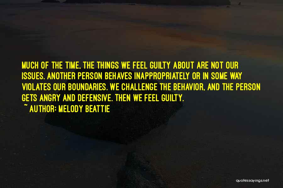 Angry Person Quotes By Melody Beattie