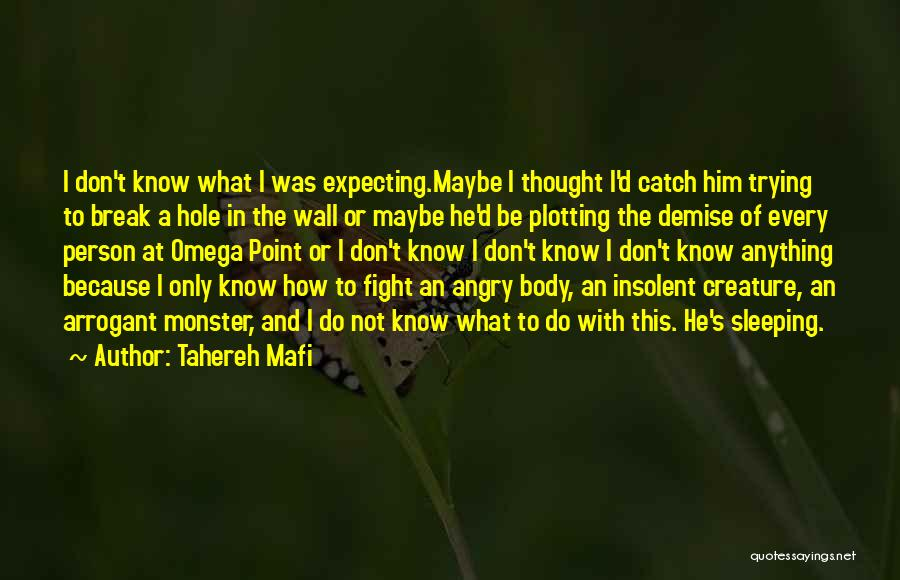 Angry Person Quotes By Tahereh Mafi