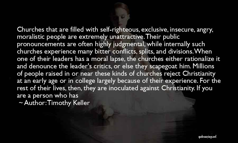 Angry Person Quotes By Timothy Keller