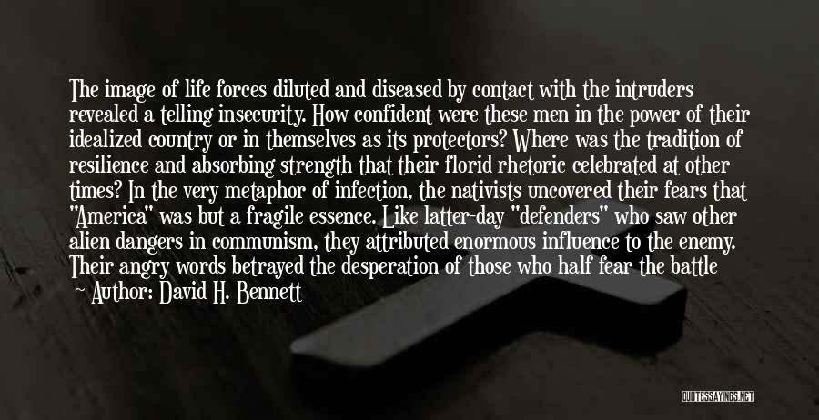 Angry Words Quotes By David H. Bennett