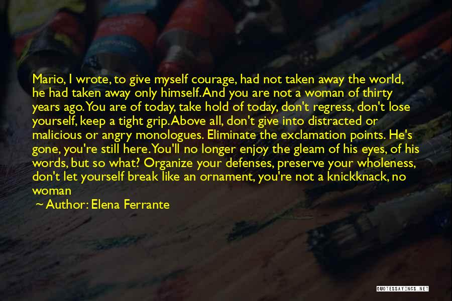 Angry Words Quotes By Elena Ferrante
