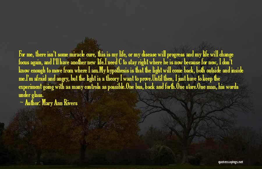 Angry Words Quotes By Mary Ann Rivers
