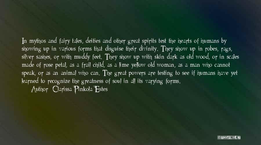 Animal Testing Quotes By Clarissa Pinkola Estes