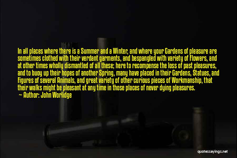 Animals Dying Quotes By John Worlidge