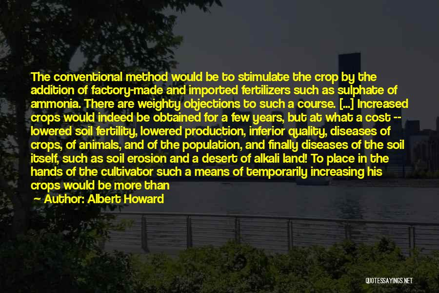 Animals Quotes By Albert Howard