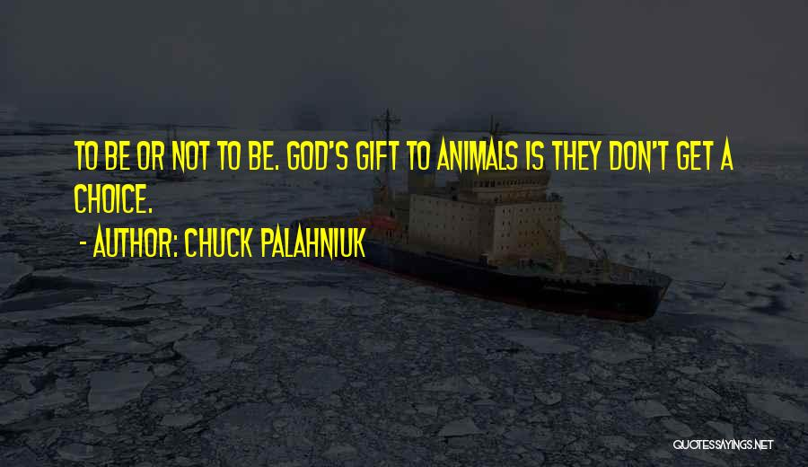 Animals Quotes By Chuck Palahniuk