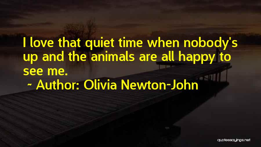 Animals Quotes By Olivia Newton-John