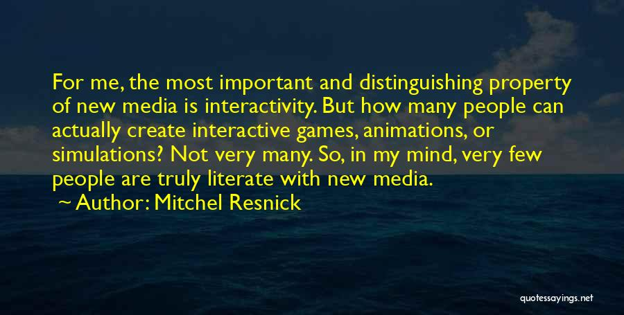 Animations Quotes By Mitchel Resnick