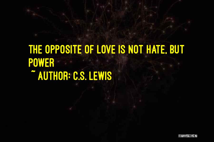 Anime Love Quotes By C.S. Lewis