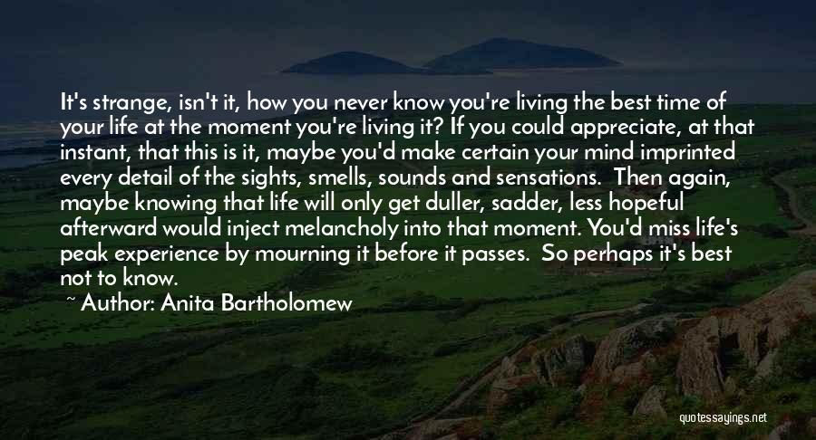 Anita Bartholomew Quotes 393602