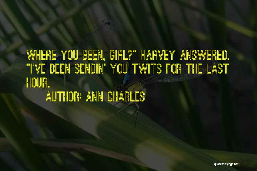 Ann Charles Quotes 2009831