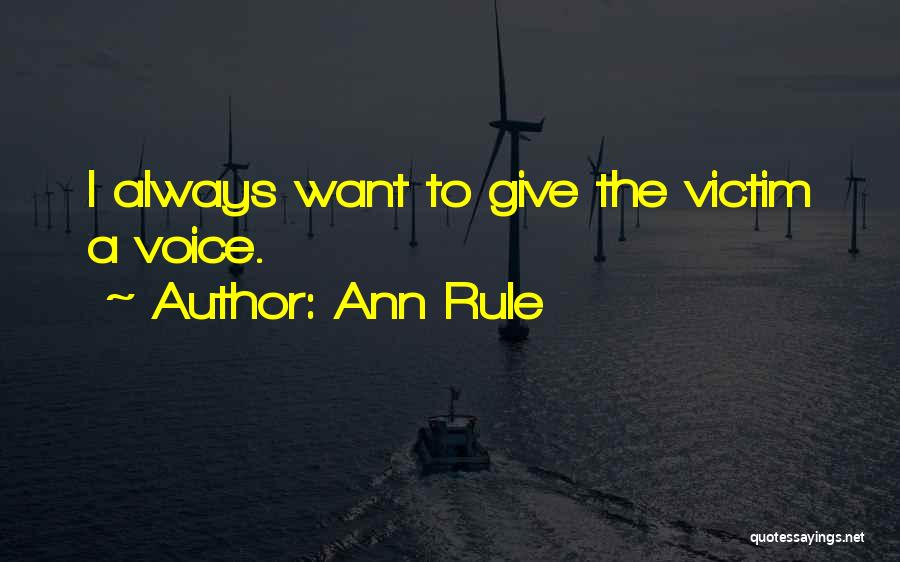 Ann Rule Quotes 566103