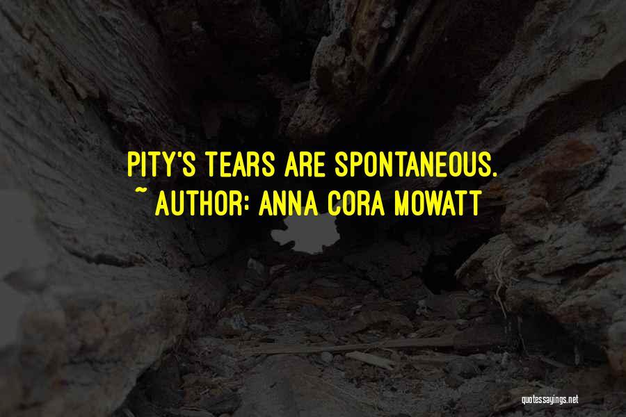 Anna Cora Mowatt Quotes 721406
