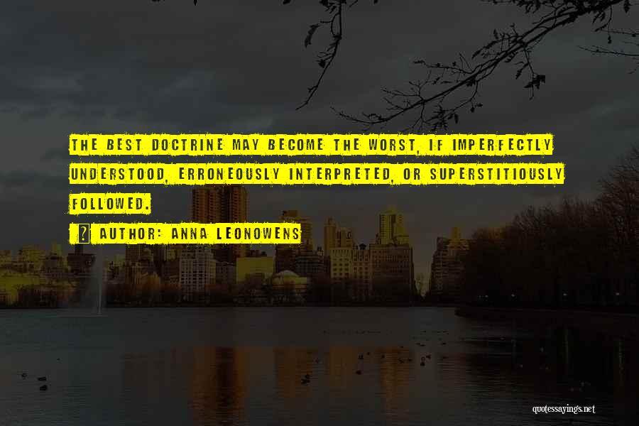 Anna Leonowens Quotes 959754