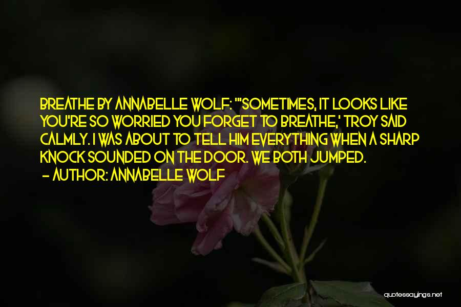 Annabelle's Wish Quotes By Annabelle Wolf
