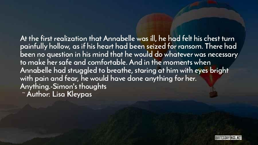 Annabelle's Wish Quotes By Lisa Kleypas