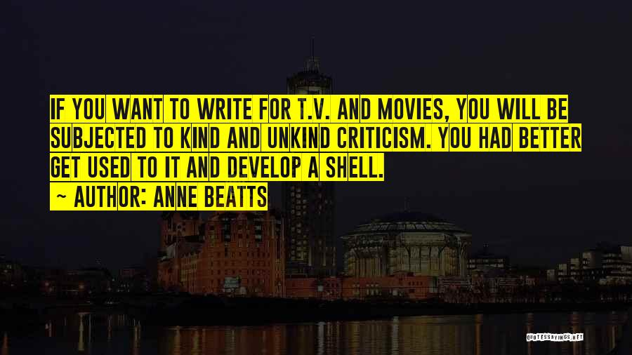 Anne Beatts Quotes 137943