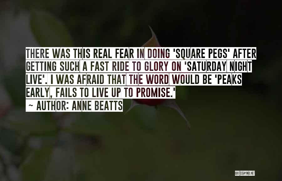 Anne Beatts Quotes 791778
