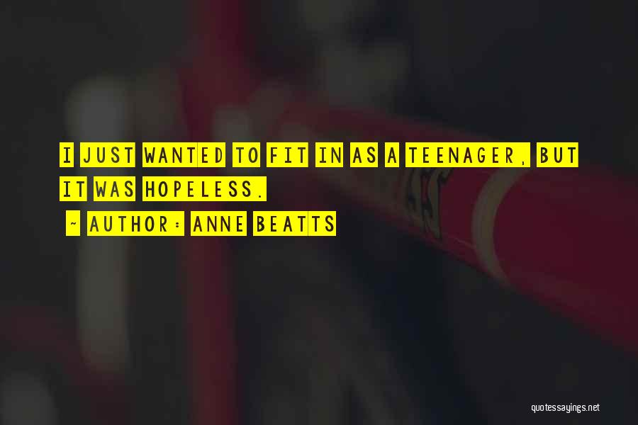 Anne Beatts Quotes 915135