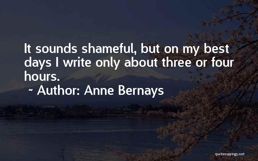 Anne Bernays Quotes 879438
