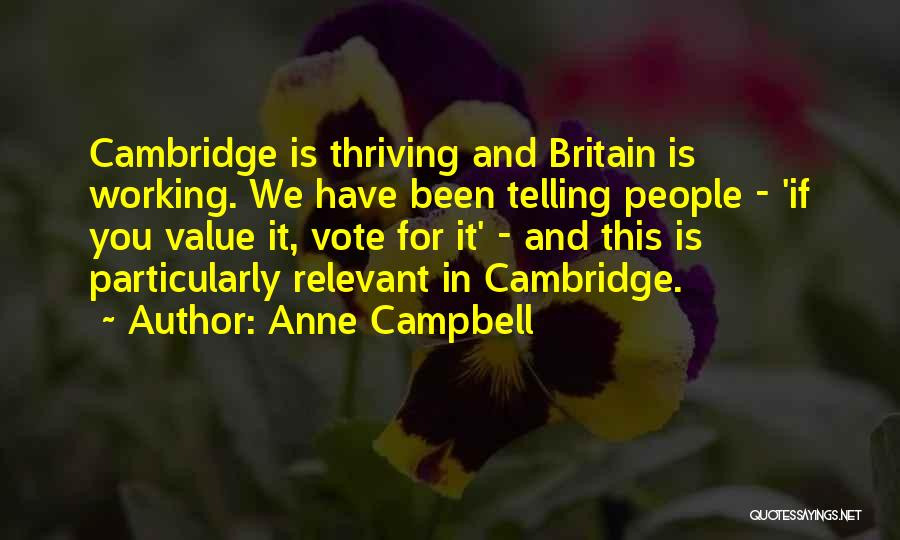 Anne Campbell Quotes 1295946