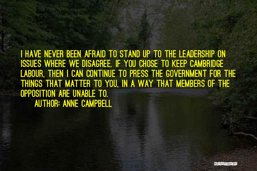 Anne Campbell Quotes 613338