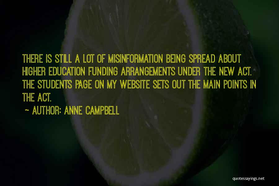 Anne Campbell Quotes 765140