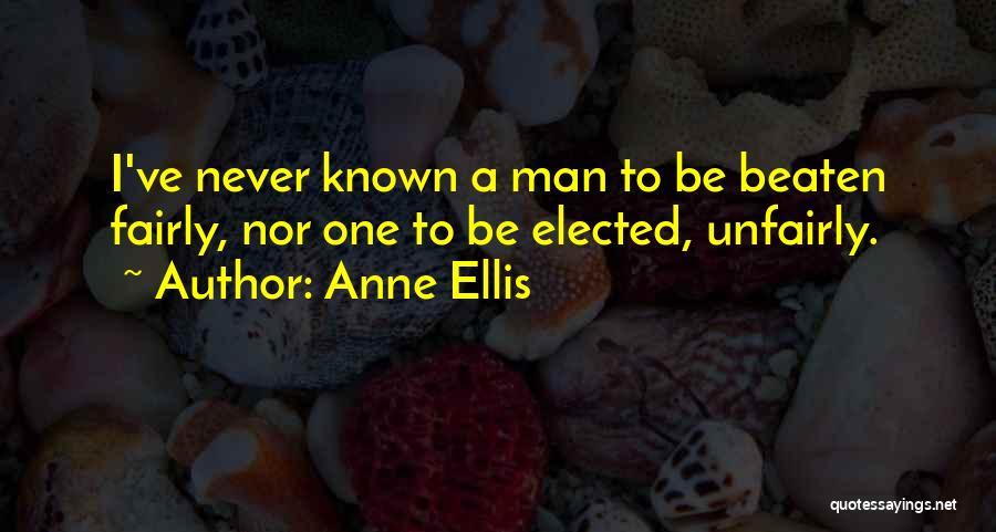 Anne Ellis Quotes 891977